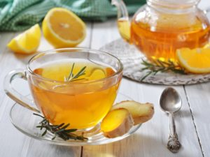 Рецепт приготовления имбирного чая для похудения